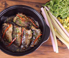 Món cá rô kho lạt đậm đà thơm nức mũi