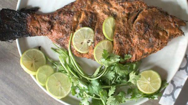 Món cá nướng bằng lò vi sóng thơm nức mũi tại nhà