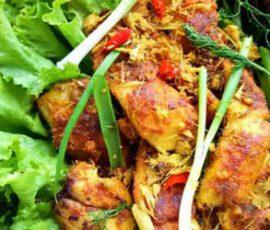 Món cá nướng riềng mẻ thơm lừng nức mũi