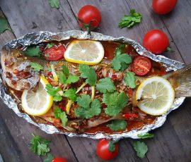 Món cá nướng chanh ngon độc đáo không tanh