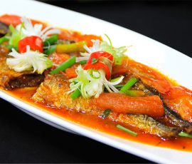 Món cá thu nhật kho cà chua đậm đà ngon tuyệt