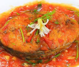 Món cá thu sốt cà chua thơm ngon đậm đà