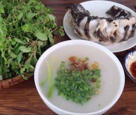 Món cháo cá lóc nước cốt dừa vừa thơm vừa béo