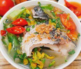 Món canh chua cá chép bổ dưỡng không bị tanh