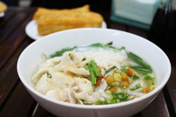 Món hủ tiếu cá lóc ngon miệng chuẩn vị người Hoa