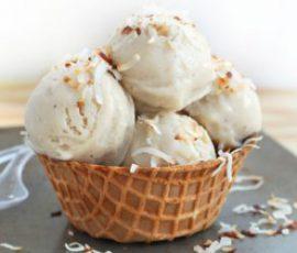 Món kem sữa dừa Tràng Tiền thơm ngon chuẩn vị