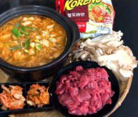 Món lẩu kim chi cay ngon chuẩn vị Hàn Quốc