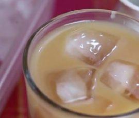 Món sữa đậu xanh trân châu mát lạnh ngày hè