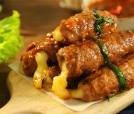 Món thịt bò nướng phô mai ngon ngất ngây