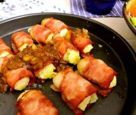 Món thịt cuộn khoai tây kiểu mới lạ miệng