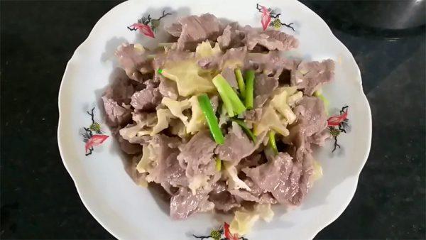 Món thịt trâu xào khế ngon đậm đà lạ miệng