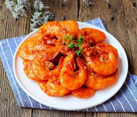 Món tôm sốt cà chua kiểu mới đánh bay cả nồi cơm