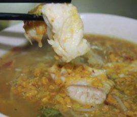 Món bún cá Campuchia chuẩn vị ngon khó cưỡng