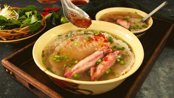 Món bún quậy Phú Quốc ngon độc đáo lạ miệng