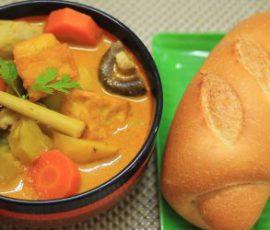 Món cà ri chay ngon hấp dẫn đơn giản tại nhà