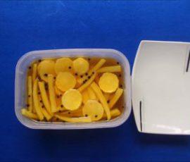 Món củ cải muối Hàn Quốc chua chua giòn giòn