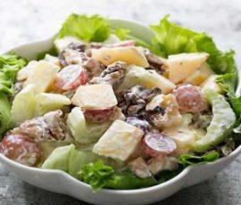 Món Salad bơ khoai tây nướng thơm ngon béo ngậy