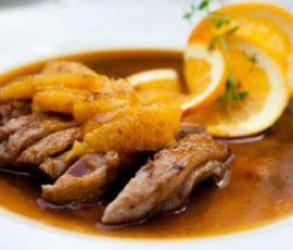 Món vịt nấu cam lạ miệng ngon cơm