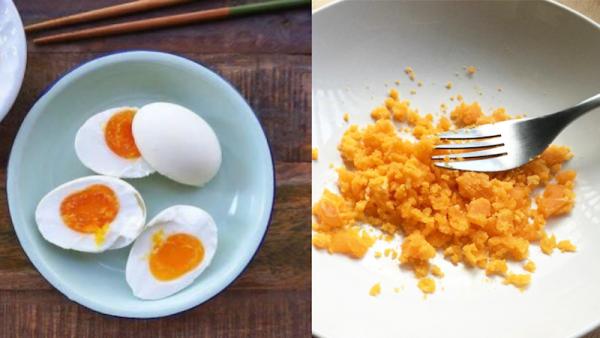 Sơ chế trứng muối