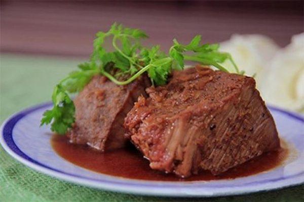 Món thịt bung miền Trung mềm thơm siêu ngon