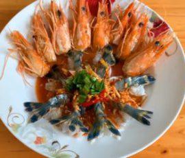 Món tôm sốt Thái chua cay kiểu mới ngon tuyệt