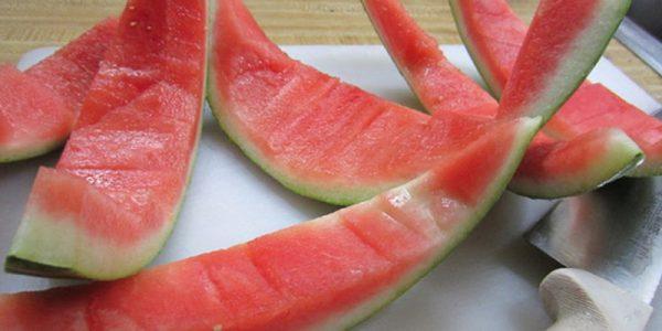 Món ăn từ vỏ dưa hấu lạ miệng giúp giảm cân