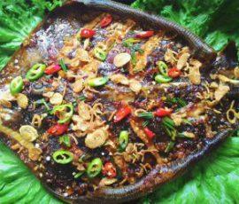 Món cá đuối nướng nghệ ngon khó cưỡng