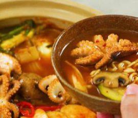 Món lẩu bạch tuộc chua cay ngon hấp dẫn
