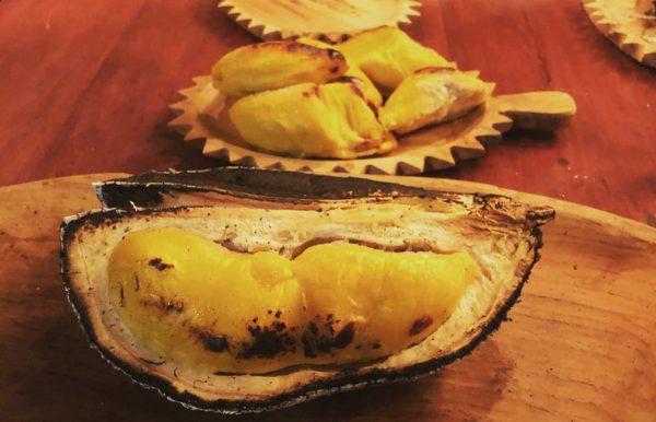 Món sầu riêng nướng thơm ngon nức mũi