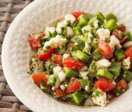 Món salad xương rồng lạ miệng tốt cho sức khỏe