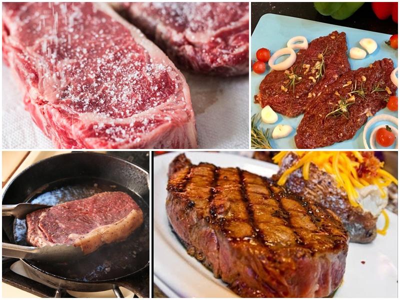 Chế biến phần thịt bò