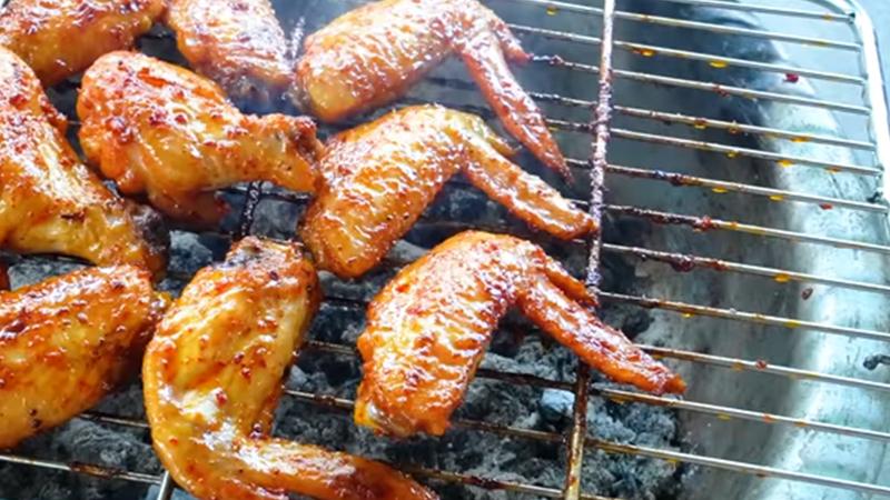 Nướng cánh gà