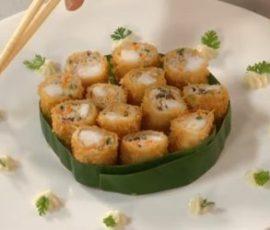 Món chả giò cá giòn ngon lạ miệng tại nhà