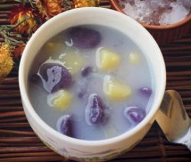 Món chè khoai dẻo thơm mát lạnh giải nhiệt
