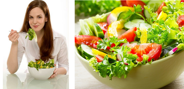 Món salad chay thanh mát lại tốt cho sức khỏe