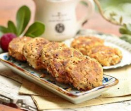 Món bánh quy đậu phộng giòn tan ai ăn cũng thích