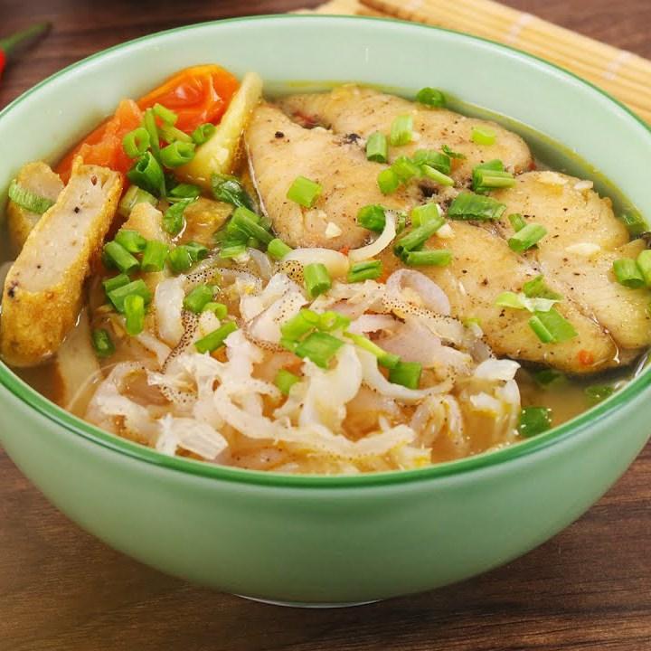 Món bún cá sứa Nha Trang ngon đậm đà chuẩn vị