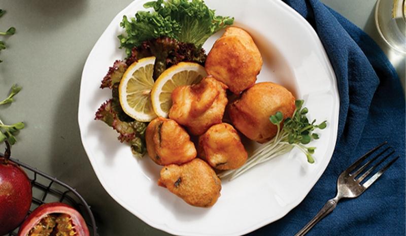 Món cá dứa chiên giòn sốt chanh dây ngon tuyệt