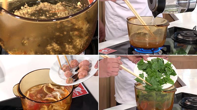 Nấu canh
