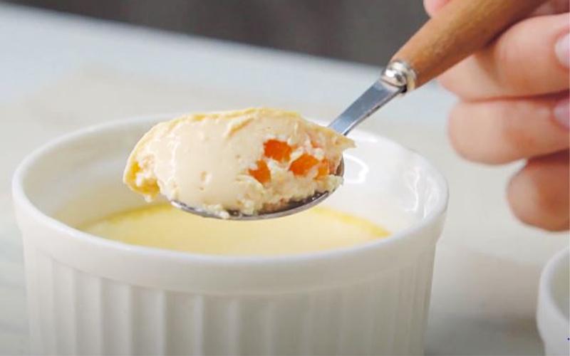 Món đậu hũ trứng hấp ăn hoài không sợ tăng cân