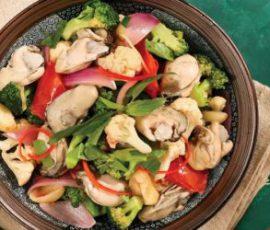 Món hàu xào bông cải ngon miệng đủ dưỡng chất