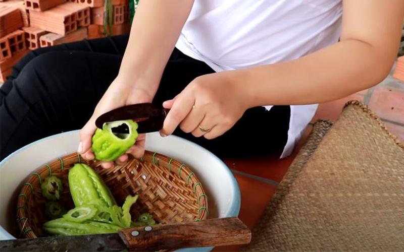 Sơ chế các loại rau