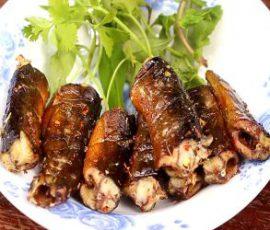 Món lươn nướng sa tế thơm lừng kích thích vị giác