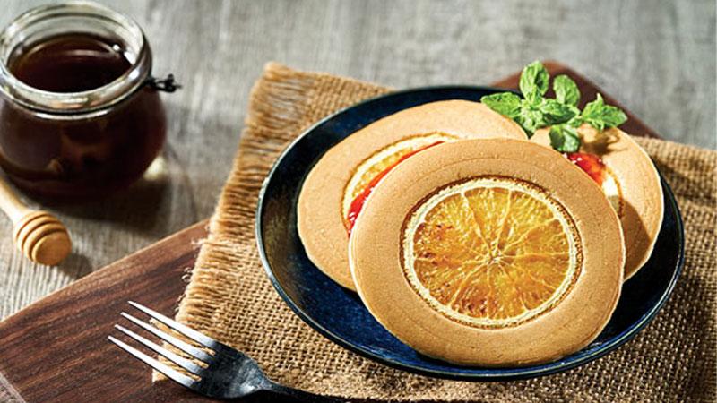Món bánh rán cam mật ong mềm thơm ngon nức mũi