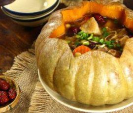 Món gà hấp bí đỏ thơm ngon bổ dưỡng cho cả nhà