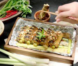 Món lươn nướng sả thơm lừng lại ngon miệng