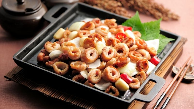Món lòng nướng kiểu Hàn Quốc ngon tuyệt