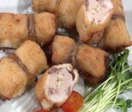 Món cá diêu hồng cuộn củ kiệu ngon tuyệt