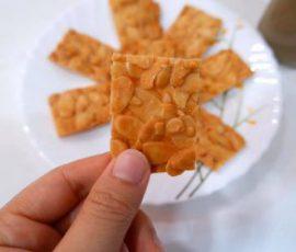 Món bánh ngói hạnh nhân ăn ngon không lo tăng cân