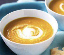 Món cháo phô mai bí đỏ ngon bổ dưỡng cho bé